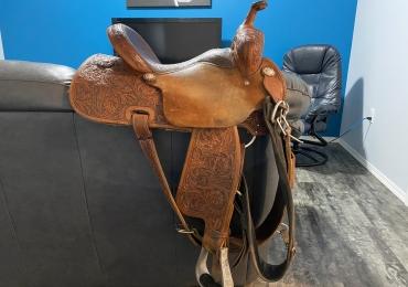 Barrel Saddle for sale