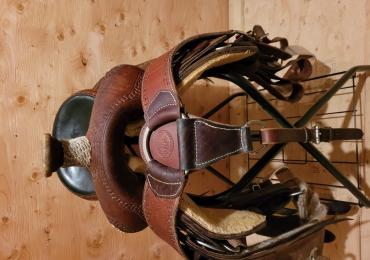 Rope saddle
