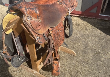 """14 1]2"""" Cowboy Country Elite Roping Saddle For Sale"""