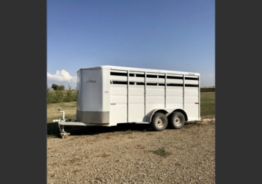 2019 Titan Primo Bumper Pull 3 Horse Trailer