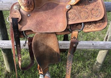 """15"""" Relentless Cactus Saddle"""